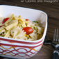 Southwest Pasta Salad with Cilantro Lime Vinaigrette