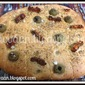 Recipe : Italian Whole Wheat Focaccia (Vegan)