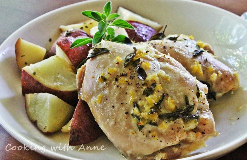 Greek Chicken Thighs and Potatoes Recipe by Anne - CookEatShare