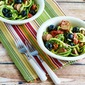 Zucchini Noodle Mock Pasta Salad (Low-Carb, Gluten-Free)