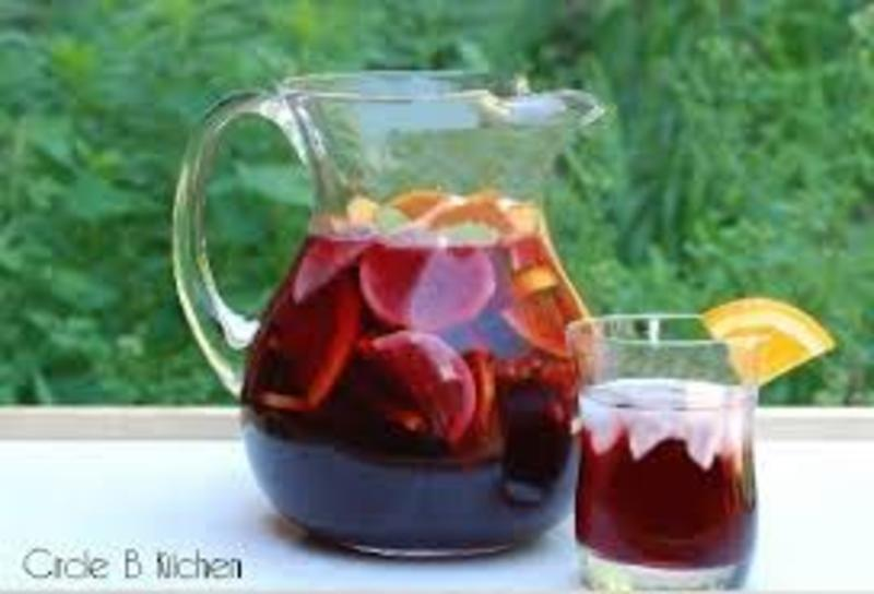 Mom 39 s sangria recipe by mitch cookeatshare for Sangria recipe red wine triple sec