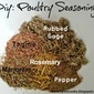 DIY: Poultry Seasoning
