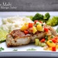 Pan-seared Mahi Mahi with Mango Salsa