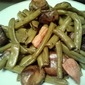Easiest Crock Pot Green Beans and Mushrooms