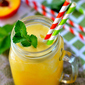 3-Ingredient Coconut Peach Cooler