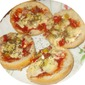 Hamburger Bun Pizzas