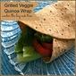Grilled Veggie Quinoa Wraps