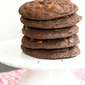 Giant Chocolate-Peanut Butter Chip Cookies