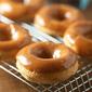 Peanut Butter Maple Glazed Mocha Donuts