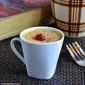 Eggless Plums Mug Cake And Brownie in Microwave