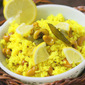 Lemon Cashew Nut Rice