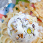 Cannoli Ice Cream [No Ice Cream Maker!]