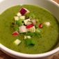 Chilly Summer Green Soup