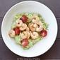 Clean Eating Shrimp Zucchini Pasta With Avocado Pesto Alfredo