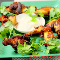 Malaysian Spicy Fried Chicken Wings