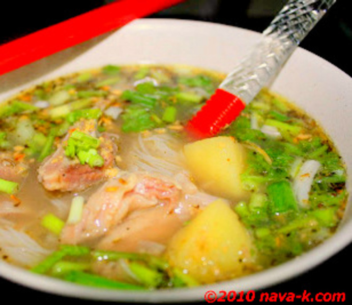 how to make mee hoon soup