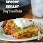 Speedy Skillet Beef Enchiladas