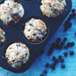 Brown Sugar Blueberry Muffins