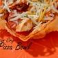 Parmesan Crisp Pizza Bowls {Low Carb}