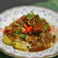 MEE KUAH MERAH TULANG / BONE IN RED SAUCE NOODLE