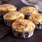 Orange Crumble Cupcake
