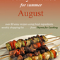 Grilled Chicken Breasts with Honey Mustard Glaze, August Menus and Smut