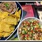 Recipe : Green Mango Salsa & Bean Dip for Nachos (Vegan)
