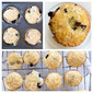 Double Blueberry Muffins with Lemon Sugar Glaze
