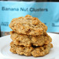 Peanut Buter Banana Cluster Kind Cookies