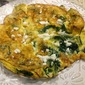 Chard, Chive and Feta Fritata