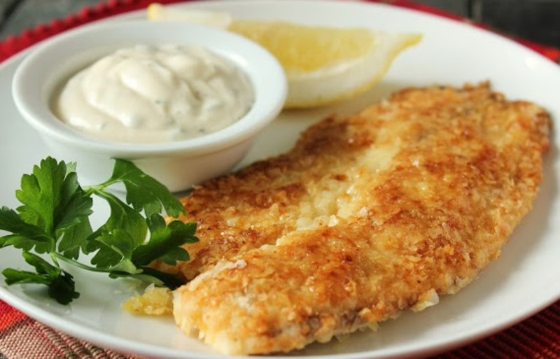 Fish fillet with tartar sauce recipe by shalina cookeatshare for Tartar sauce for fish