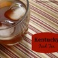 Winding Down {Kentucky Iced Tea}