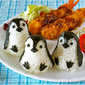 How to Make Baby Penguin Onigiri Rice Balls (One Plate Lunch / Bento Idea) - Video Recipe