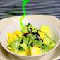 Mango & Cucumber Yoghurt Salad