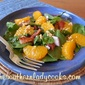 BACON AND MANDARIN ORANGE SPINACH SALAD