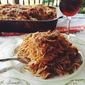 Spaghetti Lasagna w/ Zucchini