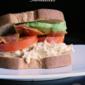 BBQ Bacon Ranch Chicken Salad Sandwiches