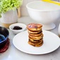 Huckleberry Pancakes with Almond Flour