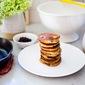 Huckleberry Pancakes with Almond Flour