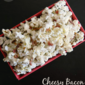 Cheesy Bacon Ranch Popcorn #PledgeforEVOO