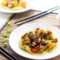 Healthy Sweet and Sour Pork with Spaghetti Squash