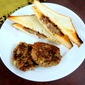 Rajma Aloo Tikki Sandwich ~ Back to School Recipes for Kids