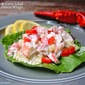 Lobster & Corn Salad Lettuce Wraps with Tarragon Mayonnaise
