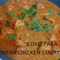 Kuku paka- Kenyan Chicken Curry