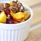 Clean Eating Nectarine Pecan Fruit Salad
