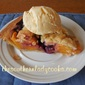 FRESH PEACH AND BLUEBERRY PIE