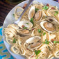 Steamed Clams with Chorizo Oil