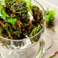 Spinach Bhaji (Fritters)