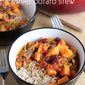 Caribbean-style sweet potato stew