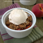Recipe Connection: Cardamom Ginger Peach Crumble (Gluten-Free)